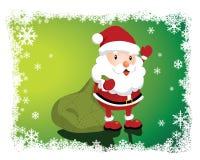Симпатичный Санта Клаус бесплатная иллюстрация
