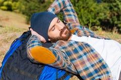 Симпатичный спать Стоковая Фотография