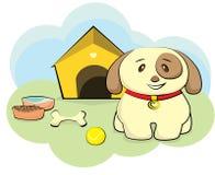 Симпатичный щенок Стоковые Фото