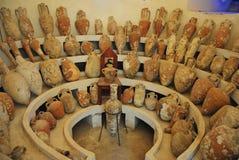 Симпозиум Amphorae на замке St Peter в Bodrum Стоковая Фотография