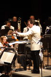 симфонизм оркестра colorado стоковые фото