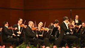 Симфонический оркестр радио вены стоковые изображения