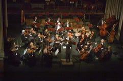 Симфонический оркестр Стоковая Фотография RF