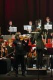 Симфонический оркестр Стоковая Фотография