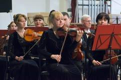 Симфонический оркестр Стоковые Фотографии RF