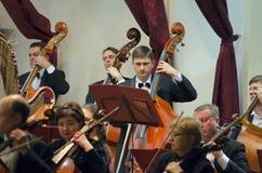 Симфонический оркестр Стоковые Изображения