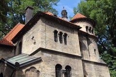 Синагога Klaus в Праге Стоковое Фото