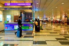 Сингапур: Валютная биржа иностранной валюты Стоковое Фото