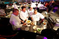 Сингапур: Конкуренция еды Стоковая Фотография
