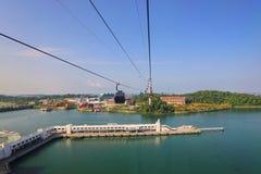 СИНГАПУР - 21-ОЕ ИЮНЯ 2014: Студии Universal Сингапур они Стоковые Изображения RF