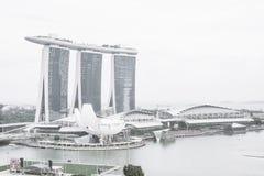 СИНГАПУР - 18-ое июля 2015: Музей ArtScience одно из attra Стоковые Изображения