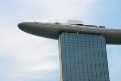 Залив Марины зашкурит Сингапур с пунктом взгляда на верхней части Стоковые Изображения RF