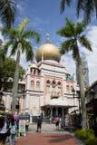 Сингапур - 30-ое января 2015: Туристы идут вокруг султана Mosq стоковые изображения rf