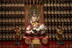 Сингапур От собрания реликвий виска священной реликвии зуба Стоковая Фотография