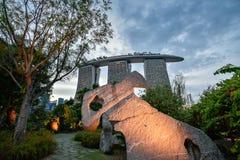 Сингапур, самое лучшее назначение перемещения Стоковое Изображение