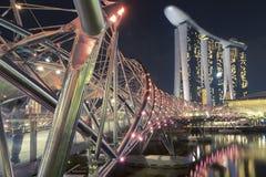 Мост винтовой линии Стоковое Изображение