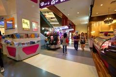 Сингапур: Торговый центр Стоковое фото RF