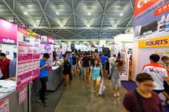 Сингапур: Шоппинг Стоковое Фото