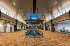 Сингапур - 3-ье сентября 2017: Интерьер стержня 1 в Changi Стоковые Изображения RF