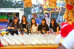 Сингапур: Ярмарка потехи стоковое фото