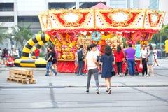 Сингапур: Ярмарка потехи стоковые изображения