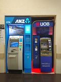Сингапур: ATM Стоковая Фотография RF