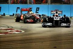 Сингапур F1 Стоковая Фотография