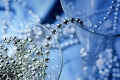 синее стекло Стоковые Фотографии RF