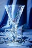 синее стекло Стоковые Изображения
