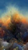 Синергии атмосферы чужеземца Стоковое Изображение RF