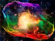 Синергии визуализирования математики Стоковая Фотография RF