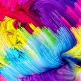 Синергии жидкостного цвета Стоковые Изображения RF