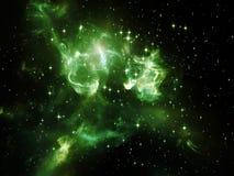 Синергии космоса иллюстрация штока