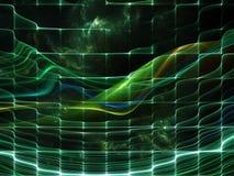 Синергии космоса иллюстрация вектора