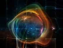 Синергии космоса Стоковое Изображение