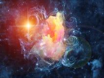 Синергии межзвёздного облака Стоковая Фотография