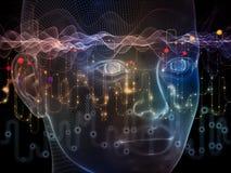 Синергии потока информации Стоковое фото RF