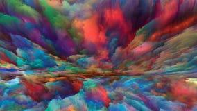 Синергии разделения горизонта стоковое фото