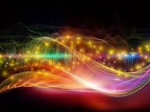 Синергии световой волны иллюстрация штока