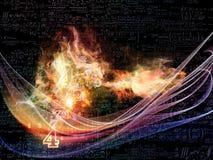 Синергии технологии Стоковые Изображения