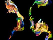 Синергии фрагментации собственной личности Стоковое Изображение RF