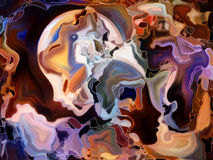 Синергии цветного стекла Стоковые Фотографии RF