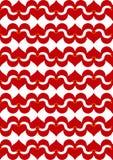 синергия красного цвета влюбленности Стоковые Изображения RF