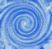Сине-предпосылк-с-бел-полька-точки Стоковые Фото