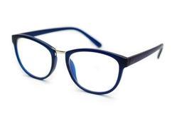 Синие стекла для того чтобы улучшить зрение Стоковое Фото