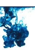 синие чернила Стоковая Фотография
