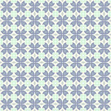Синий коготь картины краба и круга и треугольника и свирли иллюстрация штока