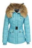 Синий пиджак женщины Стоковое фото RF