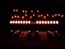 Синтезатор освещает отражение стоковые изображения rf