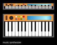 Синтезатор Стоковые Изображения